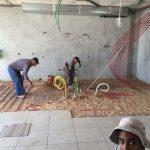 חימום בית בכפר קיש על ידי 4 מחליפי חום