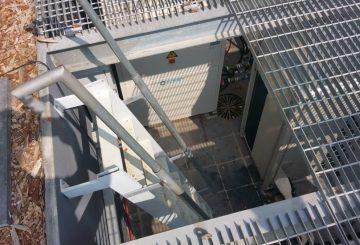 התקנת משאבת חום של CLIVET בבית בסביון שנשלט על מערכות בקרה